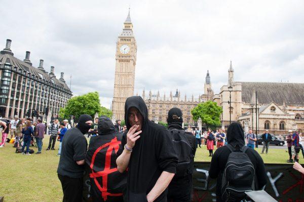 Anarchist's cigarette
