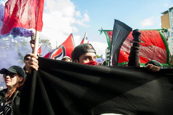 Anti-fascist rally Cable Street